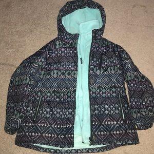 Girls Winter 2 in 1 Coat